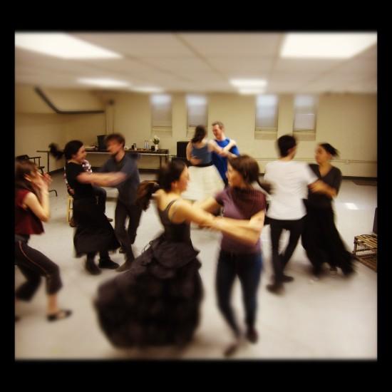 Translations Dance Rehearsal